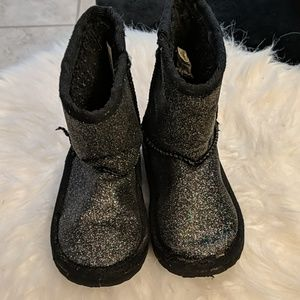 Faux fur toddler winter boots